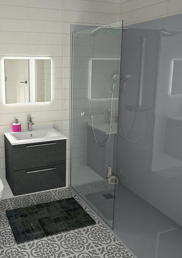 Remplacer-la-baignoire-par-une-douche,-receveur-et-panneaux-muraux-de-douche