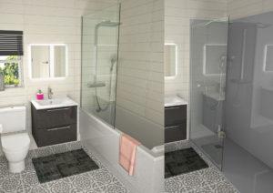 Remplacer-la-baignoire-par-une-douche,-receveur-et-panneaux-muraux-de-douche3