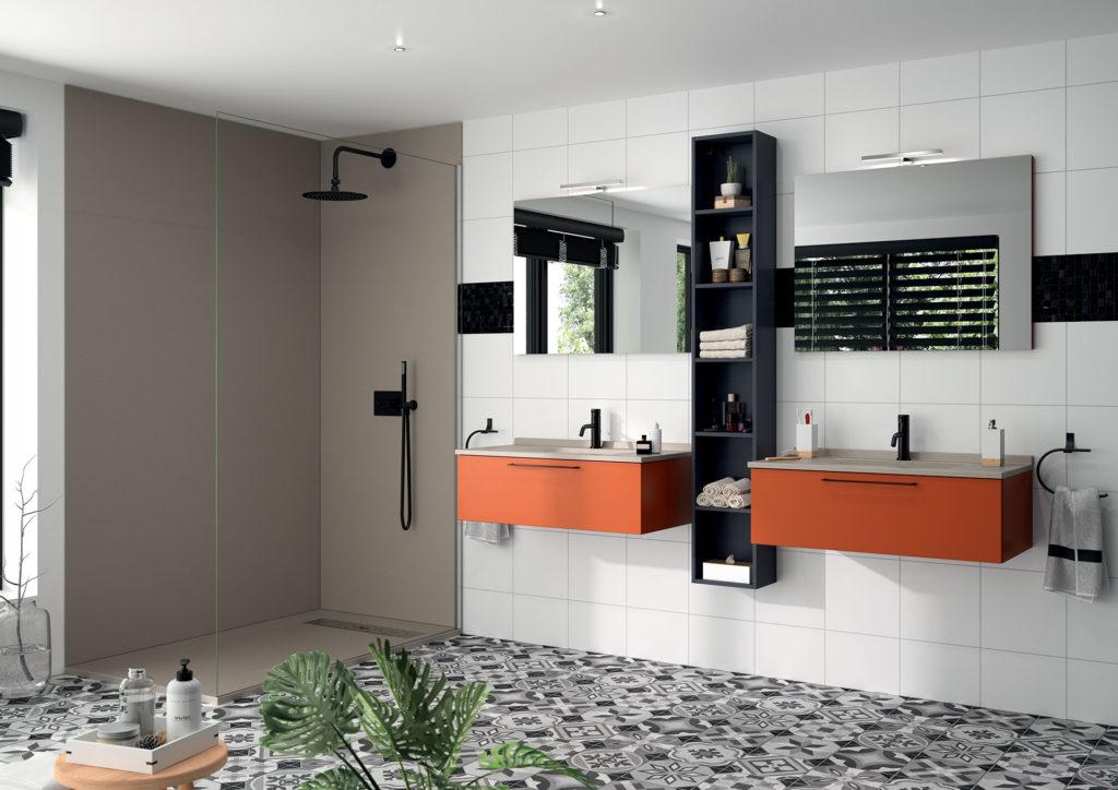 Meubles de bains & Espaces douche assortis - Ambiance bain ...