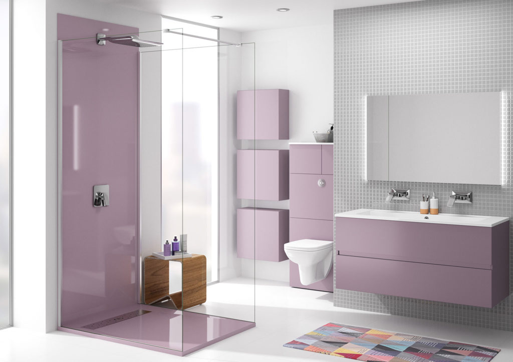Meuble-salle-de-bains-rose-Kettty-Ambiance-Bain,-meuble-wc,-miroir-et-douche-ral-rose