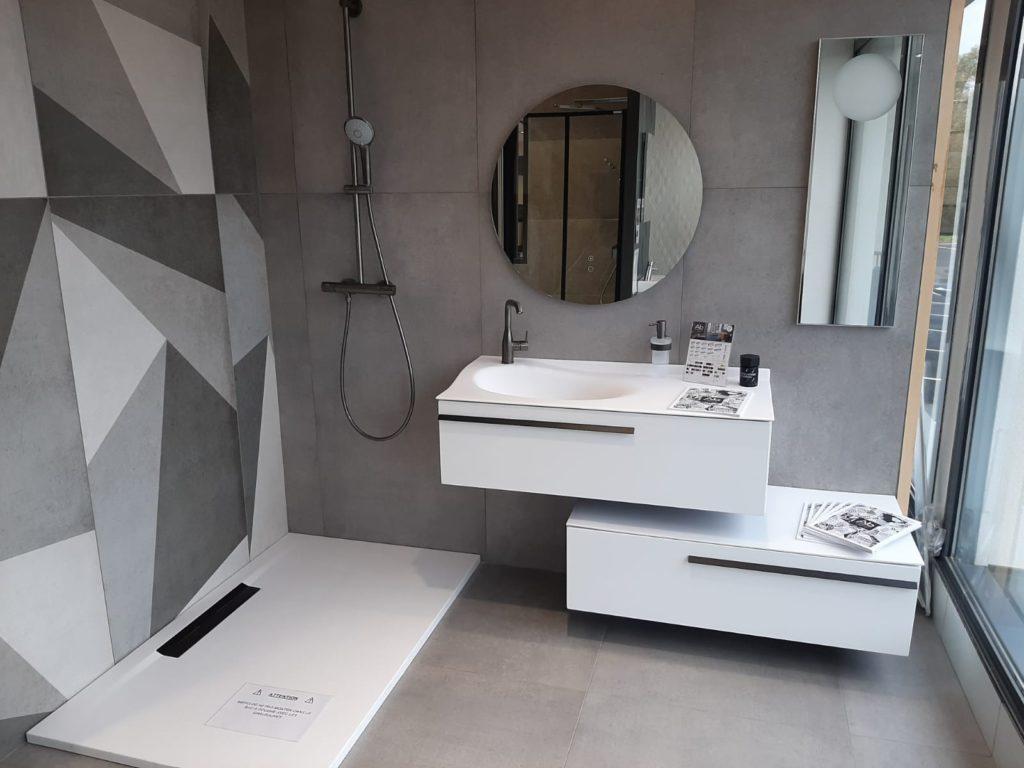 Meuble salle de bains blanc Joya Ambiance Bain