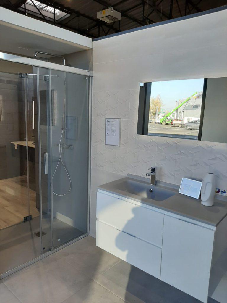 Meuble de salle de bains Rialto vasque grise Ambiance Bain